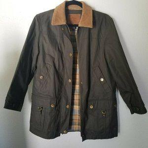 Ralph Lauren Green Mens Hunting Barn Jacket S Coat